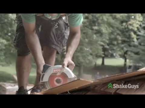 Installing the Perfect Cedar Shake Roof