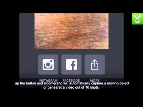 Boomerang from Instagram - Create captivating mini videos - Download Video Previews