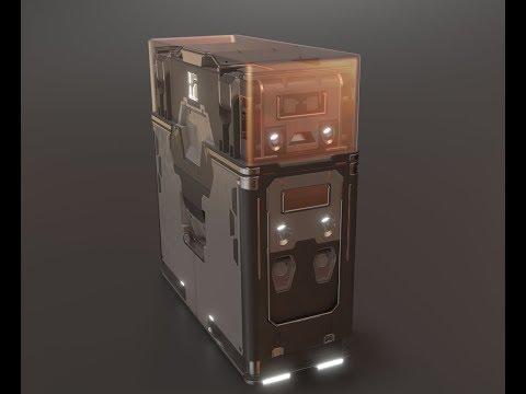 Blender 2.8 Eevee / Box Ops test_1