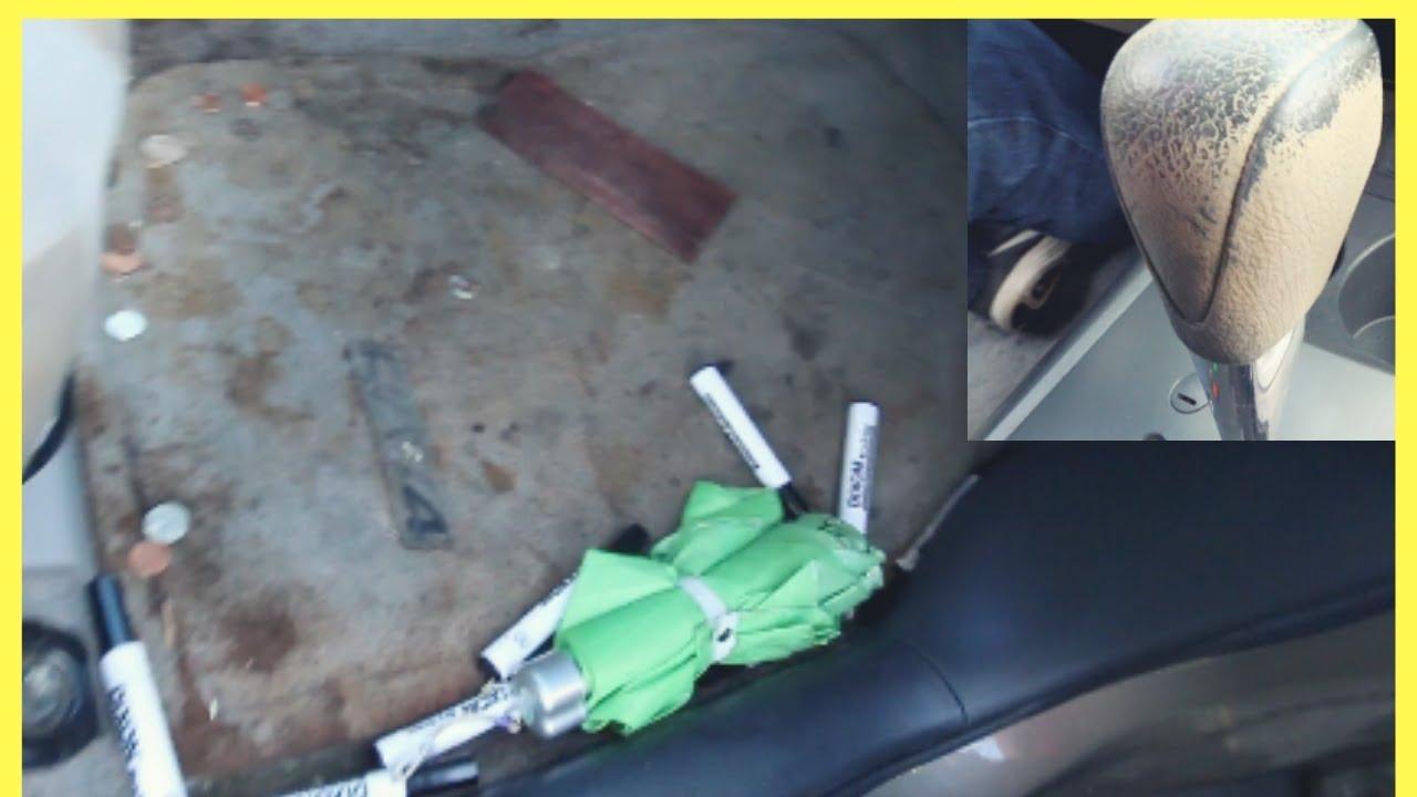 Horrendous Car Interior Thoroughly Cleaned - Toyota RAV4