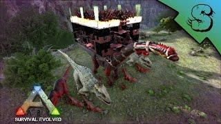ark survival evolved war bronto build raid build awesome build