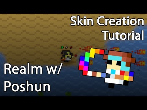 [RotMG] Skin creation tutorial using Paint.NET