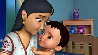 Khoka Ghumalo Para Juralo | Bengali Rhymes Collection for Children | Infobells