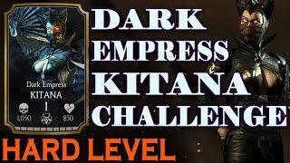 Dark Empress Kitana HARD Challenge. This time actually HARD! Mortal Kombat X Mobile