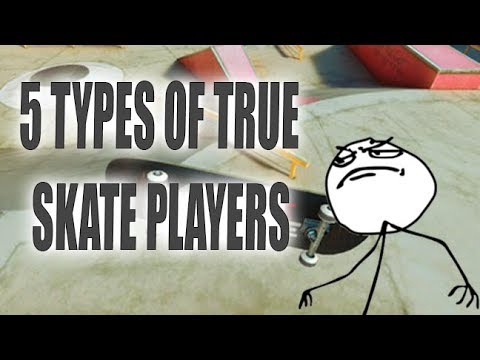5 Types of True Skate players!