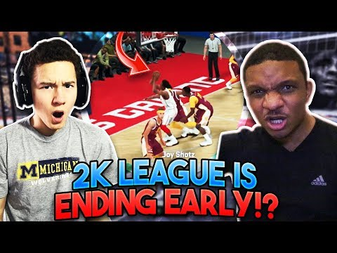 The 2K League is ENDING EARLY!!? Chris Smoove DESTROYS 2K's Hopes... - NBA 2K18