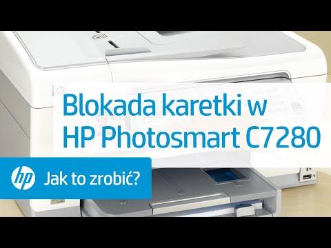Blokada karetki w HP Photosmart C7280
