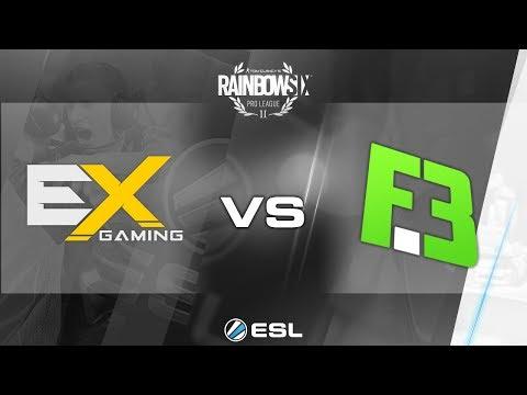 watch Rainbow Six Pro League - Season 2 - PC - NA - eXcellence Gaming vs. FlipSid3 Tactics - Week 3