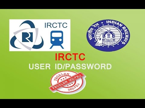 IRCTC  Create user ID and password problem SOLVED [HINDI URDU]