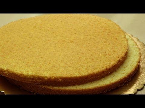 Easy Sponge Cake Recipe | Simple Vanilla Cake