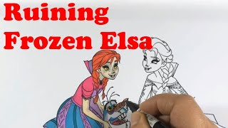 Disney  Coloring Page That Will Ruin Your Childhood