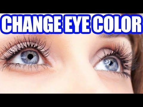 How to Change Your Eye Color Naturally Without Contacts or Surgery