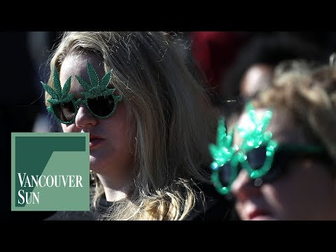 Sunset Beach a marijuana playground for Vancouver 4/20 protest