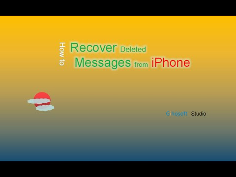 How to Recover Deleted SMS/iMessage from iPhone without Backup