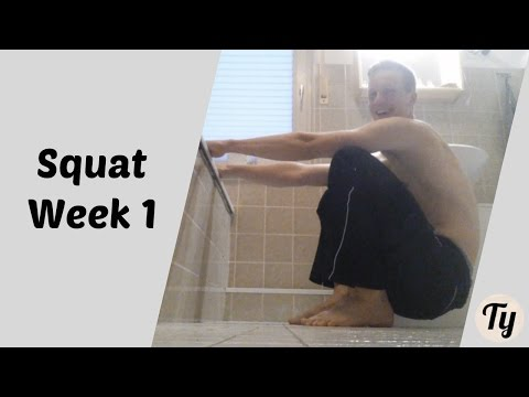 Squat Challenge, Week 1 - Learn to Squat!