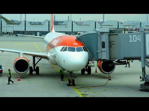 TRIP REPORT | NEW EASYJET | Munich to Berlin Tegel | Empty Flight | Airbus A320