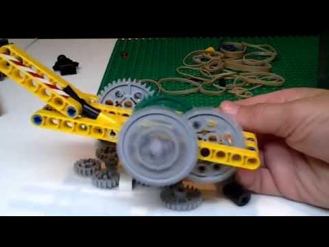 Lego wind-up motor (ULTIMATE!)