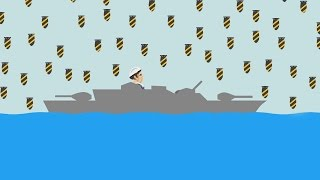 EXTREME BATTLESHIP MOAB BOMB! (Happy Wheels #81)