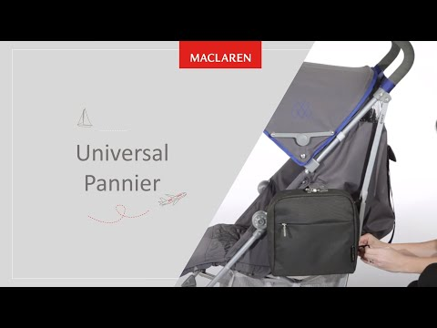 How to install Universal Pannier