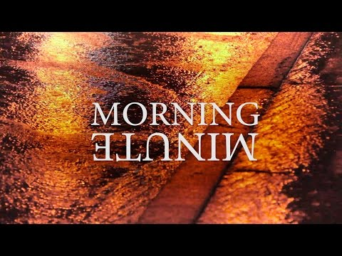 MORNING MINUTE | POURING
