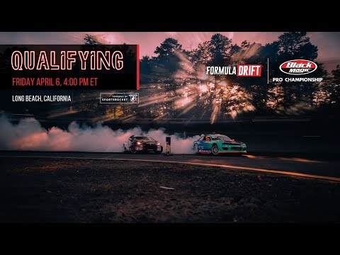 Formula Drift Long Beach - Qualifying LIVE!