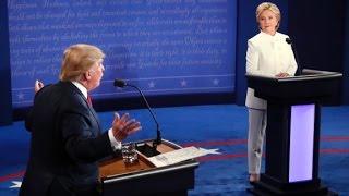 2016 Third Presidential Debate - Trump Vs. Clinton