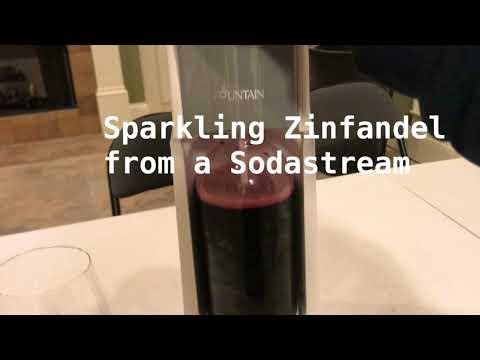 Sparkling Red Wines Using Sodastream