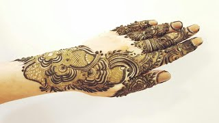 Classical Arabic Henna Design For Hands 5 Heena Vahid