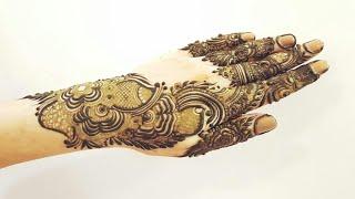 Dubai Henna Design 14 Heena Vahid
