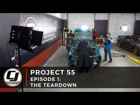 PROJECT 55 | Episode 1: 1993 Mustang Teardown