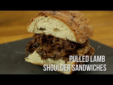 How to Cook Pulled Lamb Shoulder Sandwiches (Quickie)