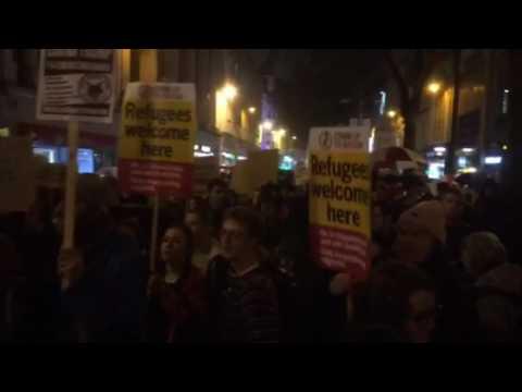 Cardiff Trump rally