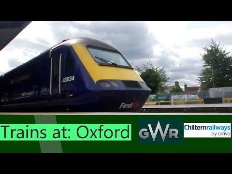Trains at: Oxford - CVL & CML & GMML - 24/8/18