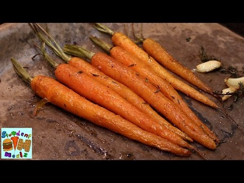 Easy Oven Roasted Carrots Recipe