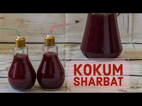 Kokum Sharbat-How to make kokum juice- Kokum Sherbet-Kalimirchbysmita-Ep289