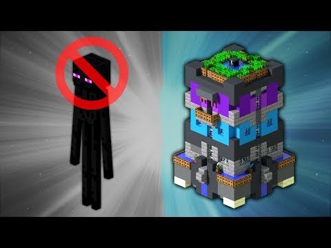 How to Build an Enderman Proof House | Minecraft
