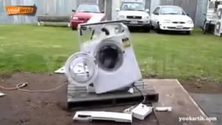 Download Çamaşır Makinesinin İçine Taş Atılırsa :D Video