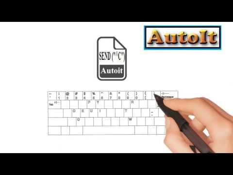 Autoit Tutorials - Tool to run autoit scripts from button icons on desktop