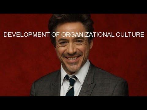 DEVELOPMENT OF ORGANIZATIONAL CULTURE