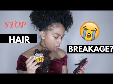 10 tips to STOP BREAKAGE || RETAIN LENGTH NATURAL HAIR