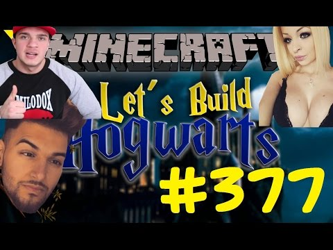 Let's Build Hogwarts - Minecraft #0377 - YOUTUBE