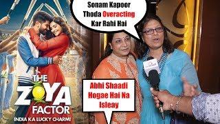 ZOYA Factor Movie Public Review | Sonam Kapoor, Dulquer Salmaan
