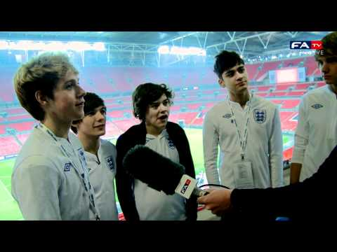 X Factor's One Direction At Wembley