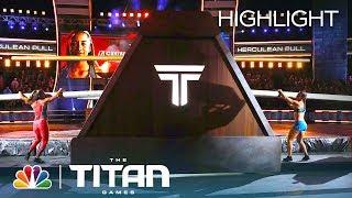 Jasmin Guinn and Ashley Huhn Show Amazing Strength in Herculean Pull - Titan Games 2019