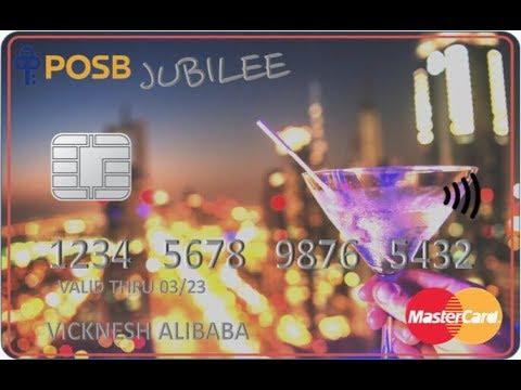 POSB Jubilee Card. Benefits.