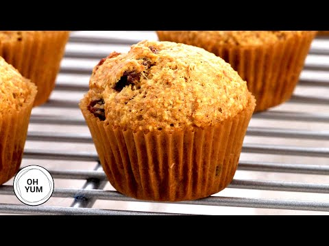 Bran Mini Muffins | Oh Yum with Anna Olson
