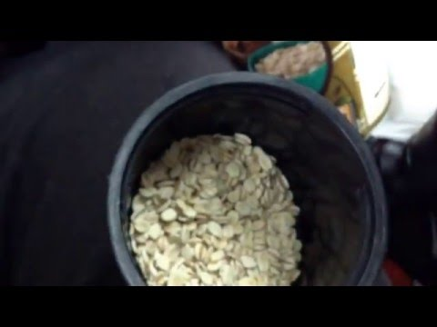 Quaker Quick Pearled Barley is rolled barley flakes instead. Quick oats are chopped rolled oats.