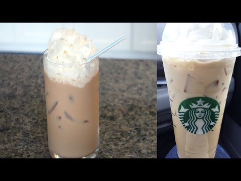 DIY Starbucks Iced White Chocolate Mocha!