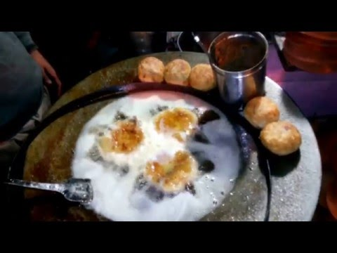 Indian Street Food recipes Bhalla making Delhi Mumbai