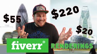 I paid 3 artists on Fiverr 300$ to render a building I designed, and this is what happened 😅💵😭